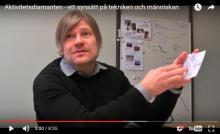 Hedvall beskriver Aktivitetsdiamanten