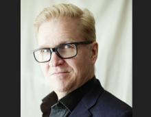 Mats Jansson, ljushårig man med glasögon.