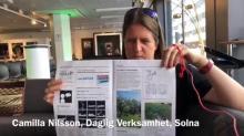 Skärmdump från video med Camilla