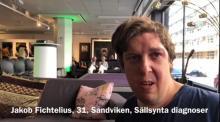 Skärmdump från video med Jakob